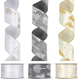 Best silver christmas tree ribbon Reviews