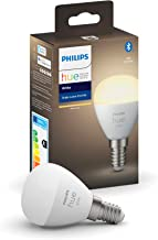 Philips Hue White 1-Pack Luster P45 E14 White 1-Pack Luster P45 E14, Smart Bulb, White, Bluetooth/Zigbee, LED, E14, Warm W...