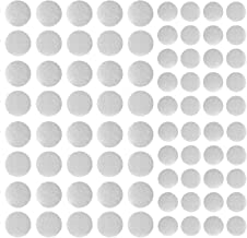 Zelfklevende Dots Tapes, 100 Paar Sticky Dot Tapes Super Sticky Hook Loop, 10mm ANG 20mm (Wit)