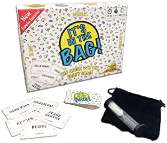 It's in The Bag | The Ultimate Family Party Game for Game Night - A Mashup of Charades Family Games for Kids and Adul...
