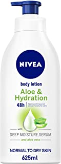 NIVEA Aloe & Hydration Body Lotion, Aloe Vera, Normal to Dry Skin, 625ml