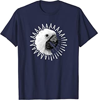 Funny Crazy Screaming Cockatoo Shirt Parrot Bird Lover Gift