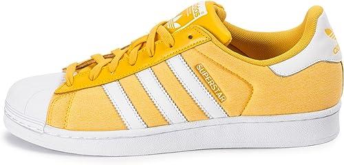 adidas Superstar Summer Pack Jaune Jaune 43 : Amazon.fr ...