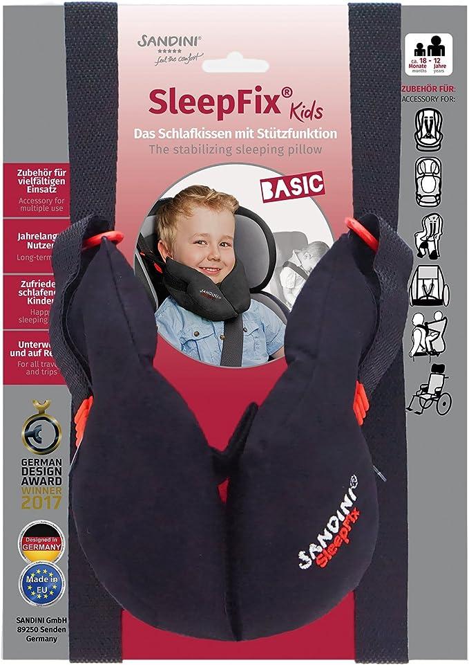 554 opinioni per SANDINI SleepFix® Kids BASIC – Oreiller/coussin de nuque pour enfant avec