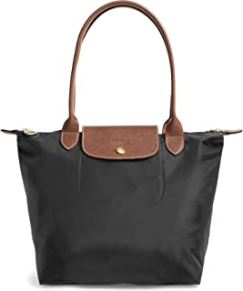 Medium 'Le Pliage' Tote Shoulder Bag, Black