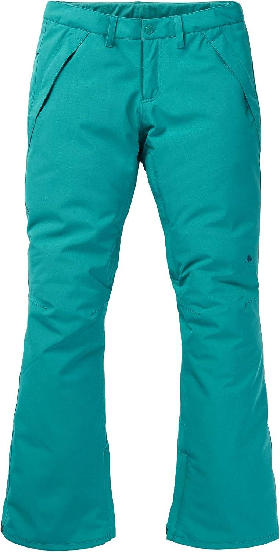 Burton Women's Society Snow Pant Regular, Greenbluee Slate