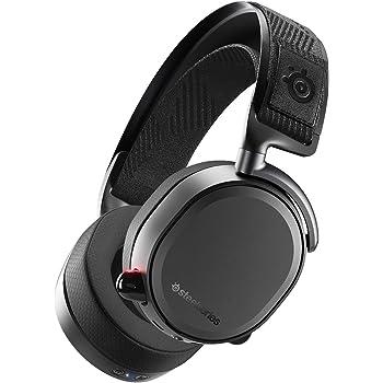 SteelSeries Arctis Pro Wireless – Drahtlos Gaming-Headset – hochauflösende Lautsprechertreiber – kombiniertes Funksystem (2,4 GHz & Bluetooth) – Schwarz