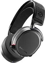 SteelSeries Arctis Pro Wireless - Draadloze Gaming Headset - Hi-Res luidsprekerstuurprogramma's - Tweevoudig draadloos (2.4G & Bluetooth) - Zwart PC