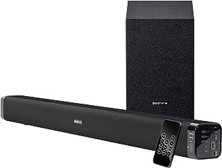 Deco Home 60W Soundbar with Subwoofer - Premium 2.1 Channel Audio - Wireless Connectivity