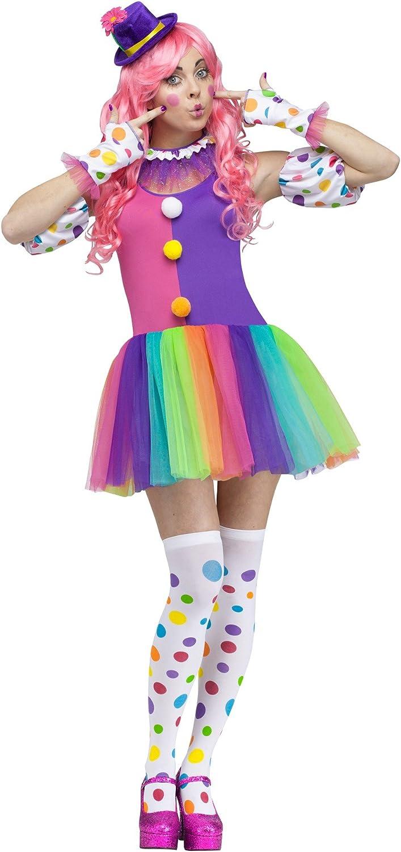 Fun World Clownin Around Adult Costume SmallMed