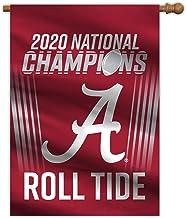 Fremont Die NCAA Alabama Crimson Tide 2020 College Football National Champions House Flag