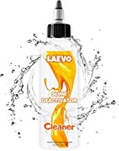 Laevo Glue Slime Deactivator/Remover for Hair, Fabrics Clothes, Carpets & More! (1.35 Oz) Saves Hard and Overactivated - Slime Must Have for Slimemaking Unique Formula Safe for Kids