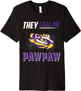 LSU Tigers They Call Me - Gold Shirt T-Shirt - Apparel