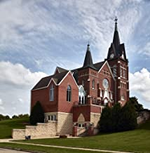 Vintography 24 x 36 Giclee Print of The Swiss United Church of Christ in New Glarus Wisconsin a Town That Calls Itself America's Little Switzerland r74 42611 by Highsmith, Carol M.