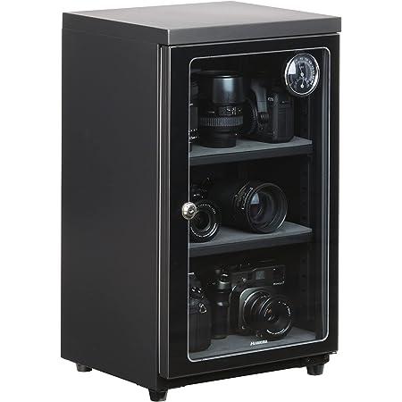 【Amazon.co.jp限定】HAKUBA 防湿庫 E-ドライボックス 60L カビ対策 自動除湿 静音 電子制御式 メーカー3年保証 KED-60AZ