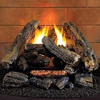 Amazoncom Vent Free Gas Logs Fireplace Stove Accessories