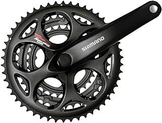 Shimano Tourney A073 170mm 30x39x50t 7/8-Speed Triple Crankset Black