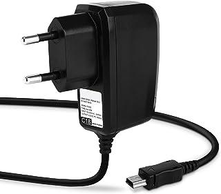subtel® Ladekabel 1.1m 1A / 1000mA kompatibel mit Garmin Edge, Drive, DriveAssist, DriveSmart, Nüvi, Oregon, eTrex, GPSMAP 5V Mini USB Ladegerät Netzteil Charger schwarz