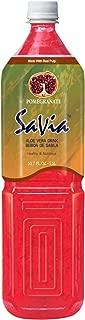Savia Aloe Vera Drink Pomegranate Flavor, 3.75-Pounds (Pack of 12)