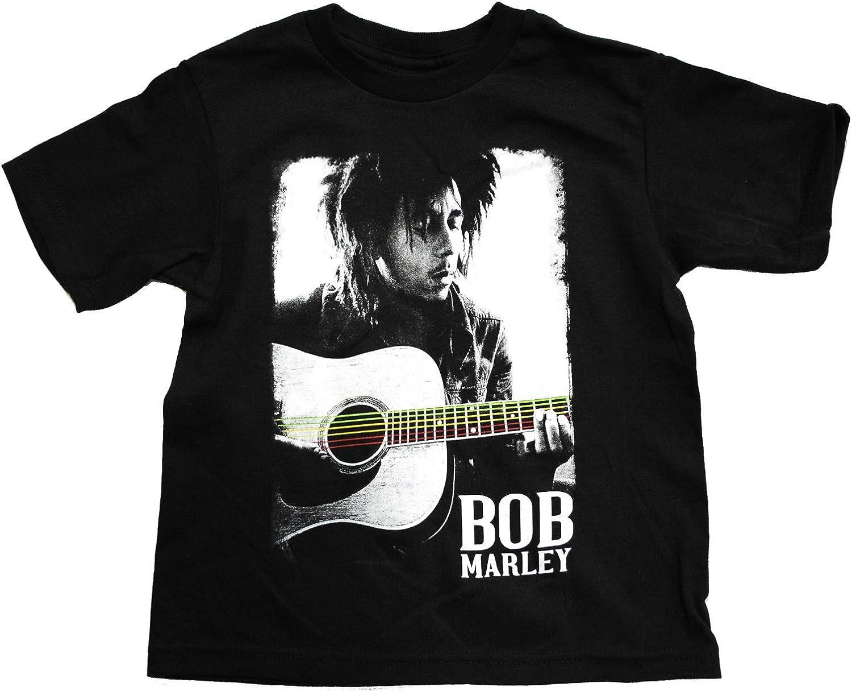 Bob Marley Guitar Poster Toddler T-Shirt