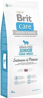 Brit Care Grain-Free Croquette Grandes Races Saumon/Pommes de Terre sans Céréales pour Chiot Junior 12 kg