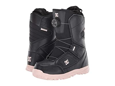 DC Search BOA(r) Snowboard Boots (Black) Women