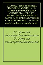US Army, Technical Manual, TM 9-2815-256-24P, UNIT, DIRECT SUPPORT AND GENERAL SUPPORT MAINTENANCE REPAIR PARTS AND SPECIAL TOOLS LIST FOR DIESEL ENGINE, ... military manuals on cd, (English Edition)