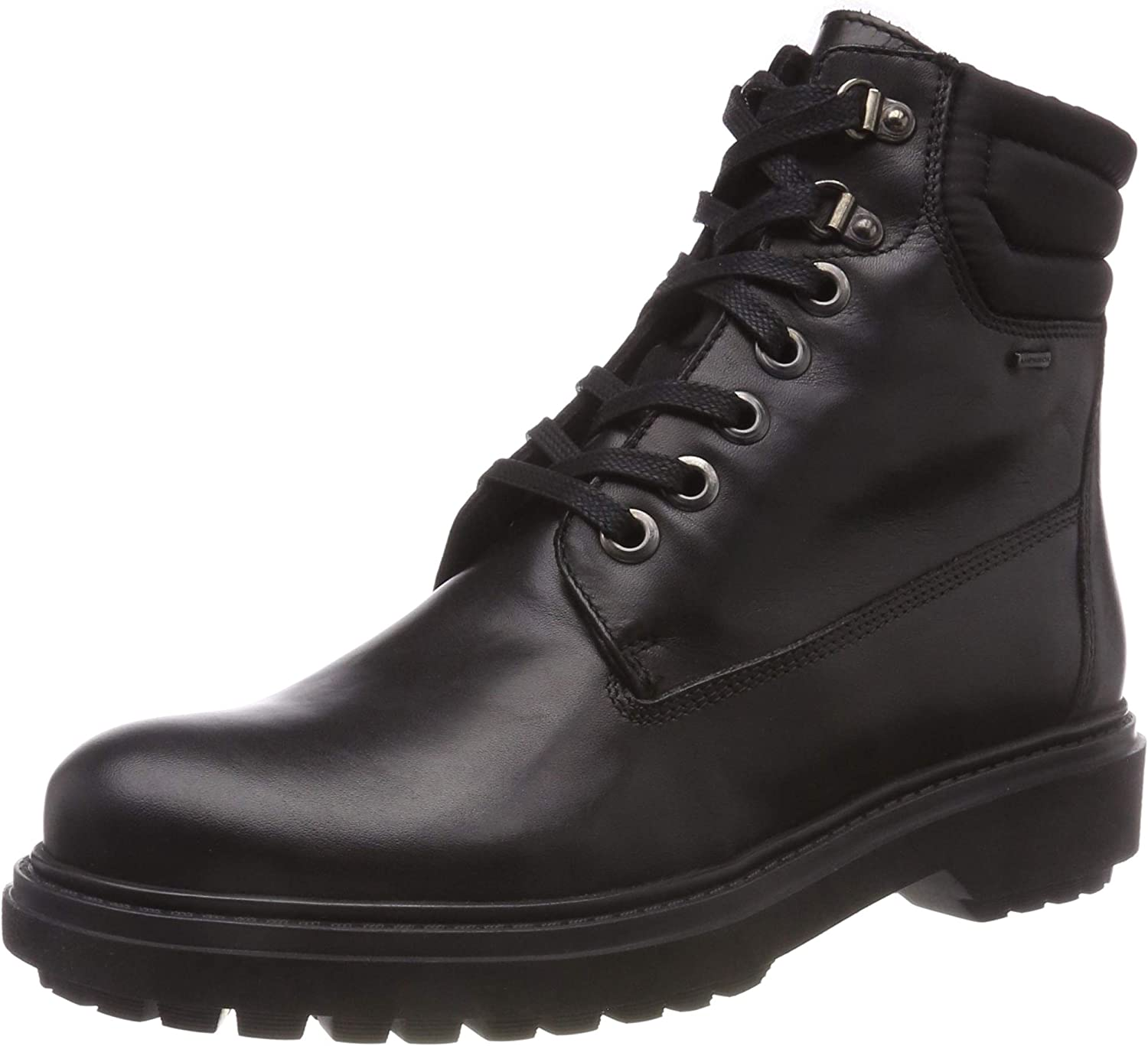Geox Women's Asheely ABX Waterproof Leather Lace-Up