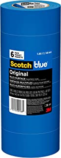 ScotchBlue Original Multi-Surface Painter's Tape, 1.88 inch x 60 yard, 6 Rolls