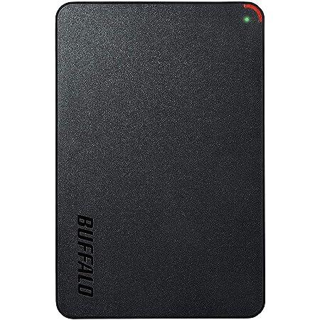 BUFFALO ミニステーション USB3.1(Gen1)/USB3.0用ポータブルHDD 4TB HD-PCFS4.0U3-GBA