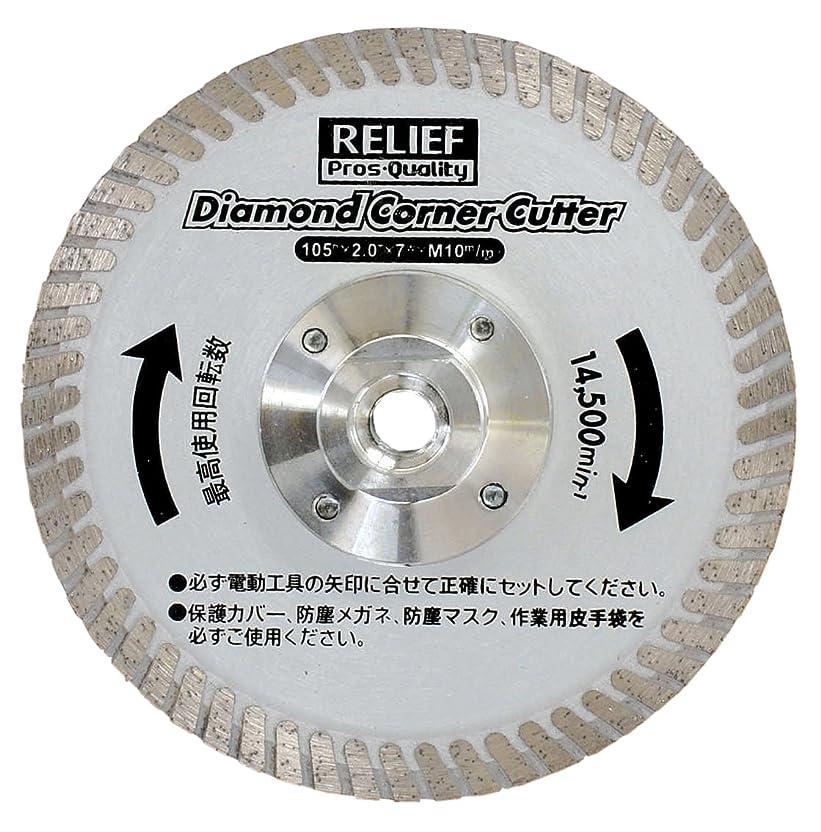 残高チャレンジ首相リリーフ(RELIFE) ディスクグラインダー用 ダイヤモンドコーナーカッター 29248