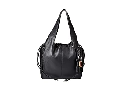 Vince Camuto Suni Shoulder Bag (Nero) Shoulder Handbags