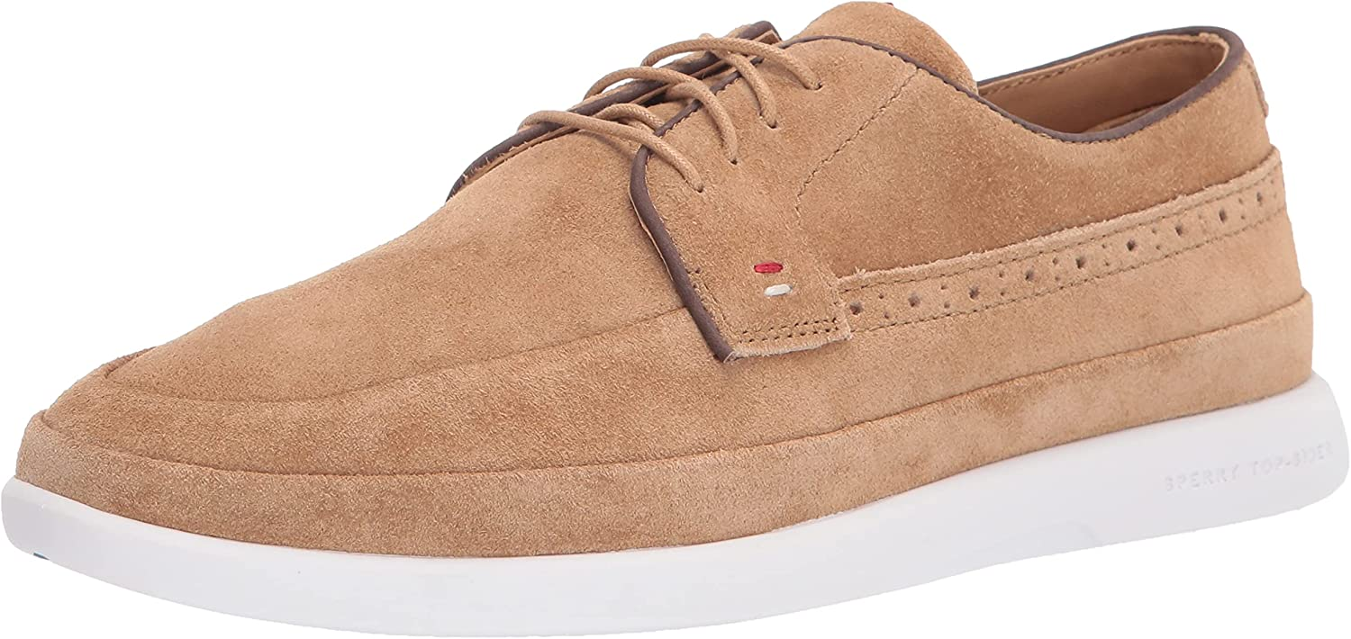 Sperry Men's Gold Plushwave Cabo 4-Eye Leather Oxford