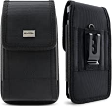 Evocel [Urban Pouch] Tactical Carrier with [Belt Loop & Holster] (6.5 in x 3.27 in x 0.37 in) Fits Galaxy Note 8, S8 Plus, Galaxy Mega, iPhone 7 Plus, ZTE ZMAX XL, ZTE Blade Z Max & More, X-Large