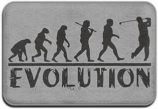 Golf Evolution Funny Golfer Humor Doormats Anti-slip House Garden Gate Carpet Door Mat Floor Pads