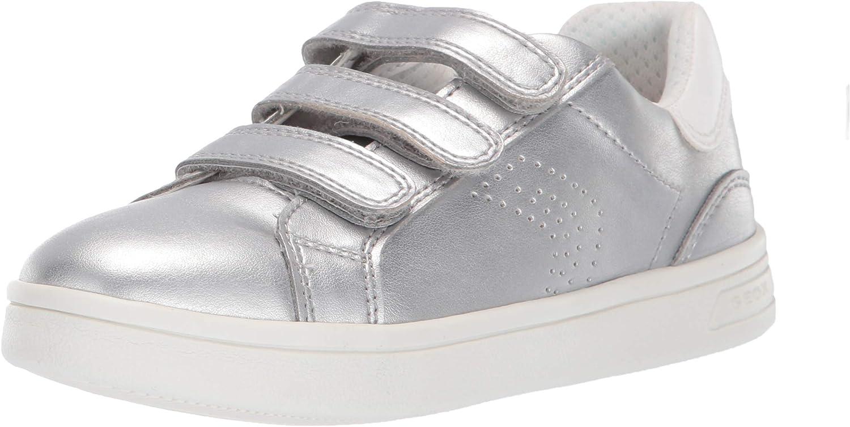Geox Unisex-Child Dj Rock Girl 21 Velcro Sneaker