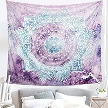LOMOHOO Tapisseries Mandala Gris Murales Art Murale Chambre Decorations Psych/éd/élique Mandala Boh/émienne D/écoration Salon ChambreRose New Mandala//M