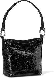 Cherie Soft Shoulder Bag Leather - BLACK [ 10