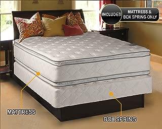 Best queen pillow top mattress and box spring Reviews