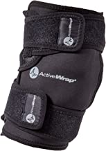 ActiveWrap Knee Ice Pack Wrap for Knee Pain ACL Injuries with Reusable Hot Cold Packs - Large / Extra Large