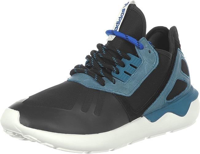 Adidas Tubular Runner chaussures 10,5 noir petrol blanc