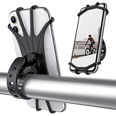 Aluminum Motorcycle Bike Bicycle Holder Mount Handlebar For Samsung Phone GPS US