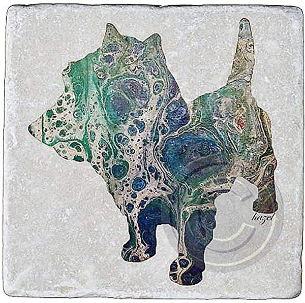 Cairn Terrier Cairn Terrier Coasters Cairn Terrier Gifts From My Original Art Dog Lovers Gifts