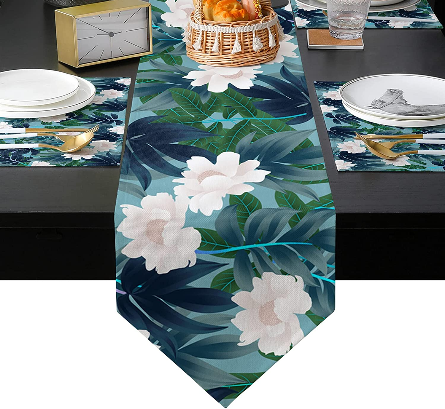 Placemats Set of 6 with Table long inches W Virginia Beach Mall Sets 72 Runner Translated