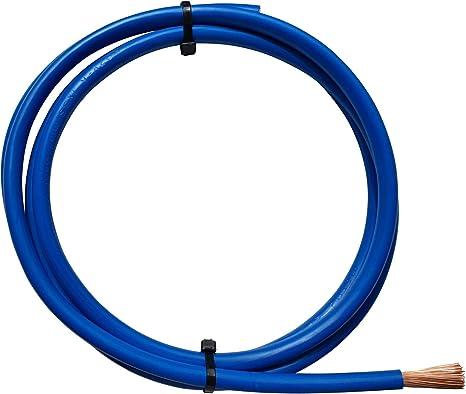 Batteriekabel Aderleitung Blau H07v K 4 6 10 16 25 35 50 70 95 Mm Batterie Kabel 100 Kupfer Meterware 4mm2 6mm2 10mm2 16mm2 25mm2 35mm2 50mm2 70mm2 Wohnwagen Lkw Boot Kfz Baumarkt