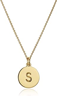 Gold-Tone Alphabet Pendant Necklace, 18