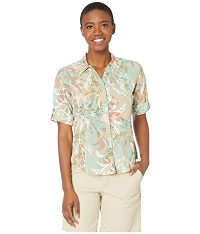 Royal Robbins Expedition Print 3/4 Sleeve Shirt (Tea) Women