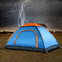 Gnanex Waterproof Portable Multi Colour Picnic Dome Camping Tent for 2/4/6 Person