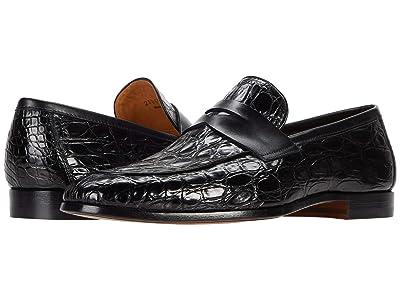 Magnanni Viggo (Black Crocodile 2) Men