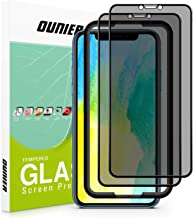 "OUNIER for iPhone 11/iPhone XR 28°True Privacy Screen Protector, [2-Pack] [Easy Frame] [Full Coverage] Anti-Spy Tempered Glass Screen Protector Compatible with Apple iPhone XR & iPhone 11 [6.1""]"